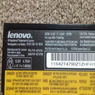 Pin Laptop lenovo E50 E520